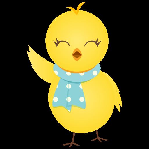 waving-chicken-icon